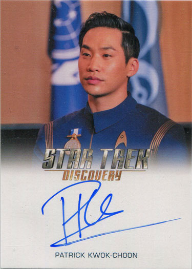 Nambue Autograph Card Star Trek Discovery Season 1 Maulik Pancholy As Dr